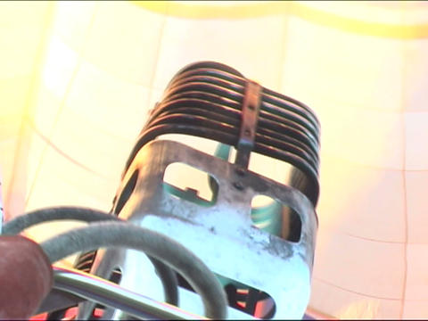 gas-jet burner Stock Video Footage