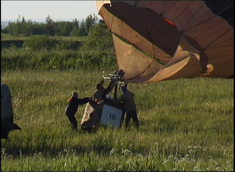 raising balloon Stock Video Footage