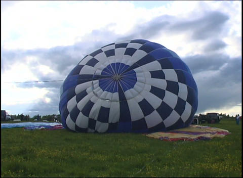 inflating air bags Footage