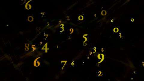 circle numeric Animation