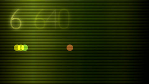 matrix with numbers Stock Video Footage