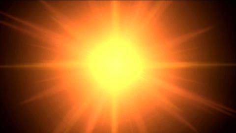 shining sun Stock Video Footage