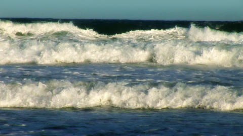 Close Up of Waves Breaking Stock Video Footage