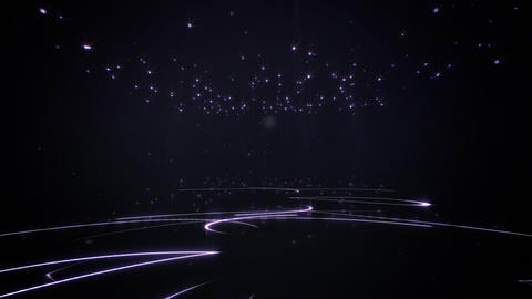 Stars carpet loop CG動画素材