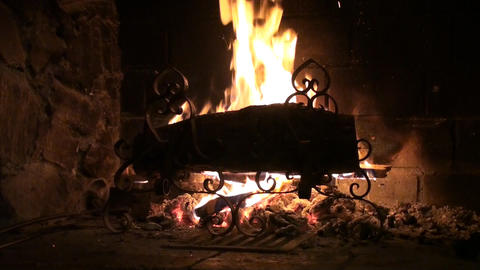 Wood burning Footage