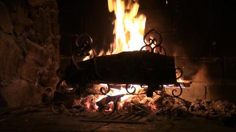 Wood burning Footage