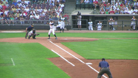 Batter Strikes Out 02 Stock Video Footage