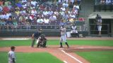 Baseball Batter Walked 02 stock footage