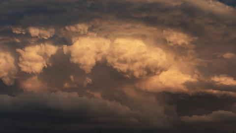 4k, Dramatic Clouds Timelapse stock footage