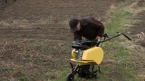 Motor cultivator 3 Footage