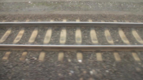 railway tracks Footage