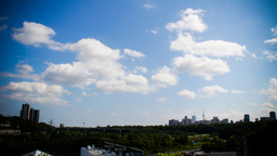 Toronto Don Valley Time-Lapse stock footage