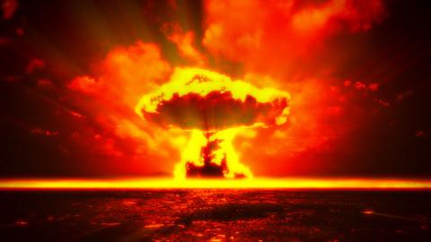 Nuclear Explosion Animation