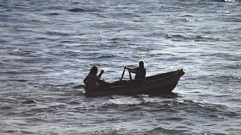 Rowing against the tide Footage