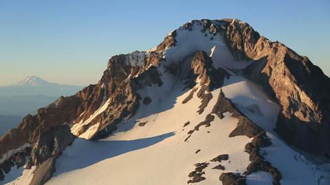 Aerial 06 Mt Hood Footage