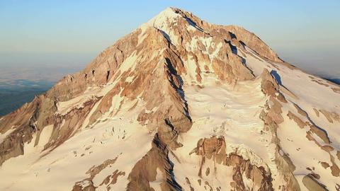 Aerial Mt Hood Footage