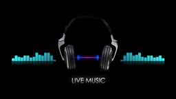 sound wave background Animation