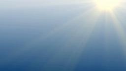 light rays shining Animation