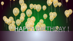 happy birthday Animation