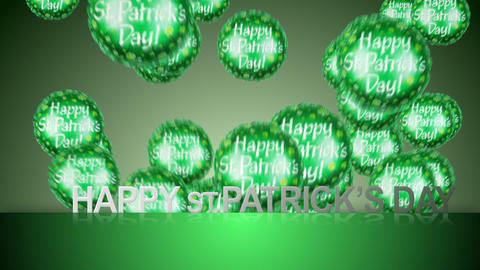happy st.patrick's day Animation