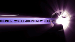headline news Animation