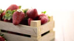 Strawberries Footage