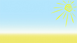 Summer Background Animation Loop Animation