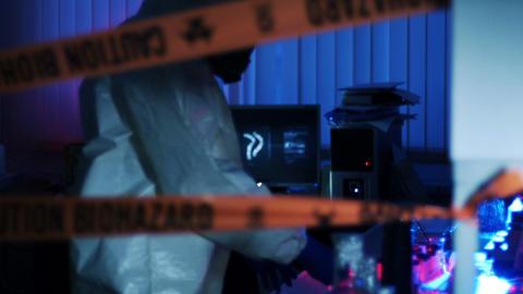CleanUp Team Removes Virus Leak in Lab Footage