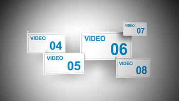 multi screen After Effects Template