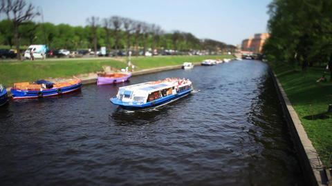 boat trip Film Tilt Footage