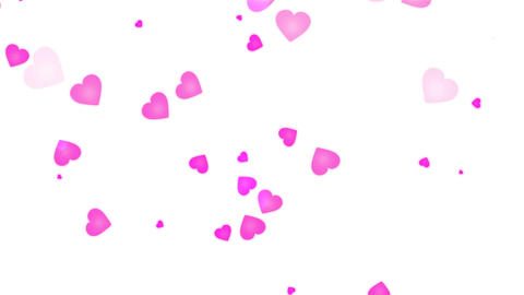 Love Heart Pink Stock Video Footage