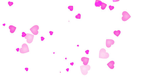 Love Heart Pink stock footage