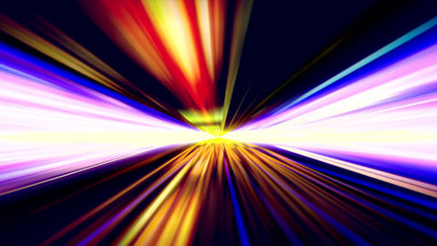 Light Tunnel 1 stock footage