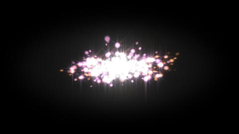 Particle Animation With Alpha Channel stock footage