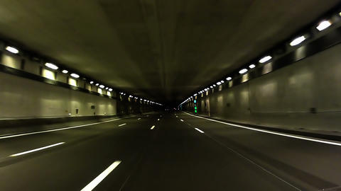 Highway Tunnel 03 Footage