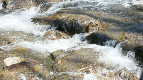 Close Up Of Stream stock footage