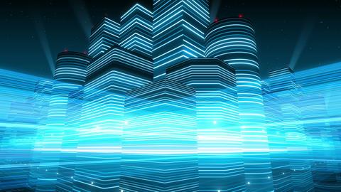 Neon Light City F 2 Bb 4 4k Animation