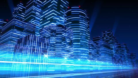 Neon Light City F 3 Ab 4 4k Animation