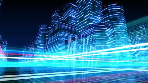 Neon Light City R 1 Ab 4 4k Animation
