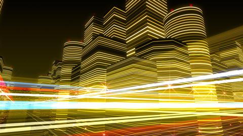 Neon Light City R 1 Bb 4 4k Animation