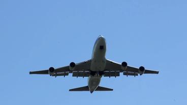 aircraft takeoff plain close up Footage