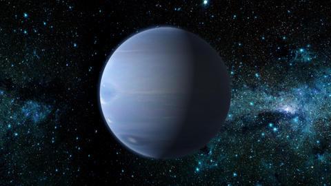 Planet Neptune Animation
