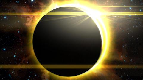 Solar Eclipse 1 Animation
