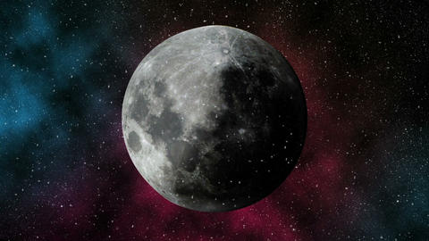 Moon stock footage