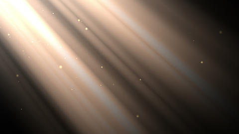 Light Rays And Dust stock footage