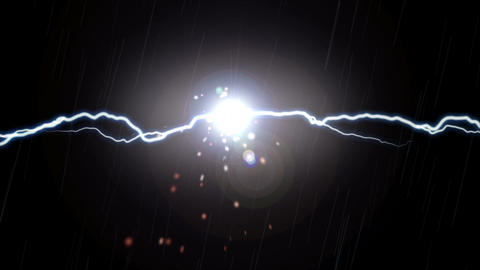 Lightning and Sparks Effect Animation