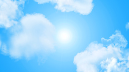 sun and clouds Animation