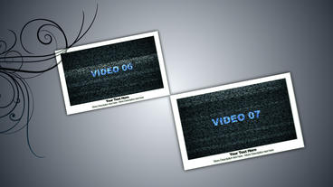 Display Screen with Texts After Effects Template