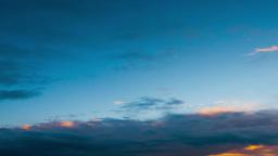 Beautiful sunset, timelapse Footage