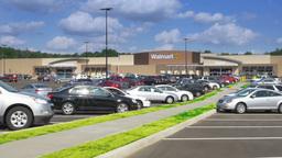 Walmart Establishing Shot Footage